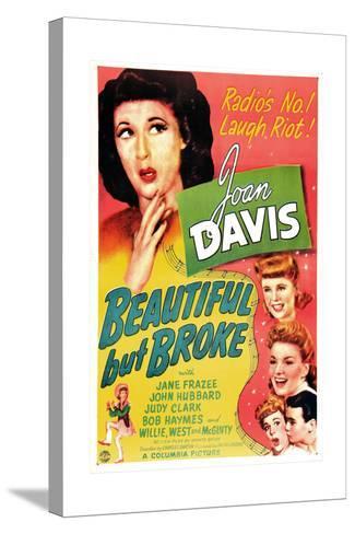 Beautiful But Broke, Joan Davis, Judy Clark, Jane Frazee, 1944--Stretched Canvas Print