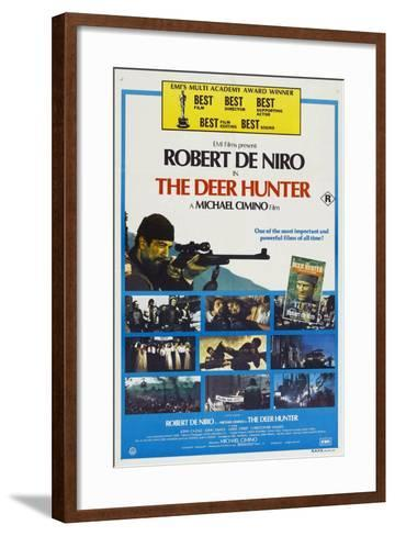 The Deer Hunter--Framed Art Print