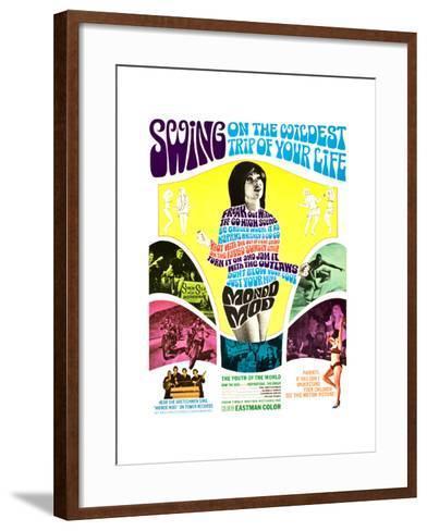 MONDO MOD, poster art, 1967--Framed Art Print