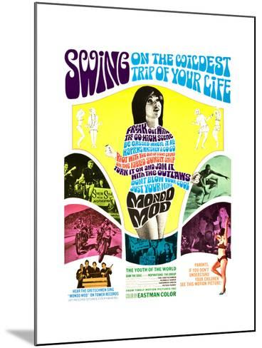 MONDO MOD, poster art, 1967--Mounted Art Print