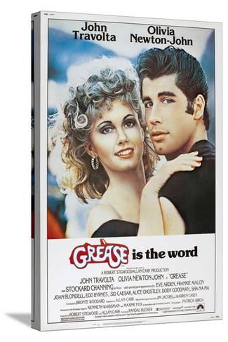 Grease, Olivia Newton-John, John Travolta, 1978. ? Paramount Pictures/Courtesy Everett Collection--Stretched Canvas Print