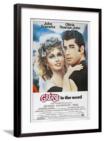 Grease, Olivia Newton-John, John Travolta, 1978. ? Paramount Pictures/Courtesy Everett Collection--Framed Art Print