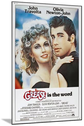 Grease, Olivia Newton-John, John Travolta, 1978. ? Paramount Pictures/Courtesy Everett Collection--Mounted Art Print