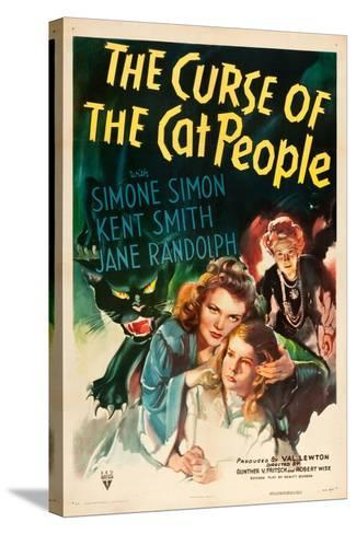 The Curse of the Cat People, Simone Simon, Ann Carter, Julia Dean, 1944--Stretched Canvas Print