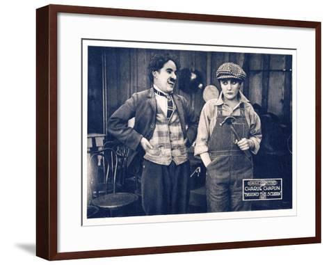 Behind the Screen (aka The Pride of Hollywood)--Framed Art Print