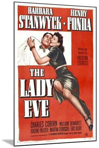The Lady Eve, Henry Fonda, Barbara Stanwyck, 1941--Mounted Art Print