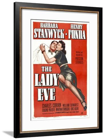 The Lady Eve, Henry Fonda, Barbara Stanwyck, 1941--Framed Art Print