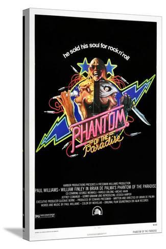 Phantom of the Paradise--Stretched Canvas Print