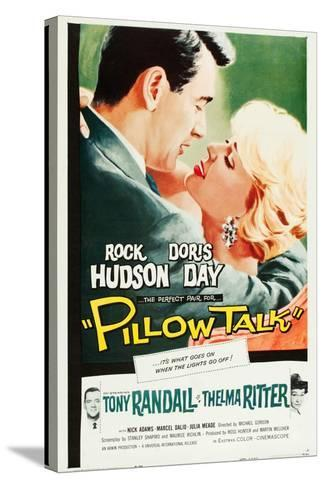 Pillow Talk--Stretched Canvas Print