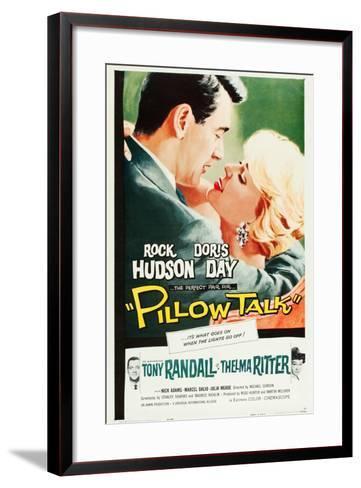 Pillow Talk--Framed Art Print