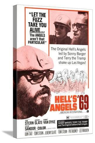 Hell's Angels '69, Sonny Barger, 1969--Stretched Canvas Print