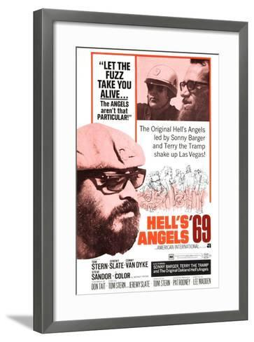 Hell's Angels '69, Sonny Barger, 1969--Framed Art Print