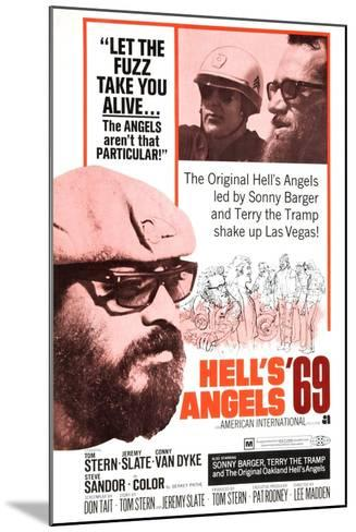 Hell's Angels '69, Sonny Barger, 1969--Mounted Art Print
