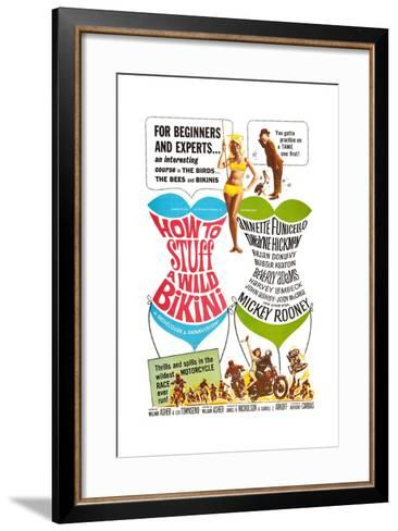 How to Stuff a Wild Bikini, Mary Hughes; Mickey Rooney, 1965--Framed Art Print