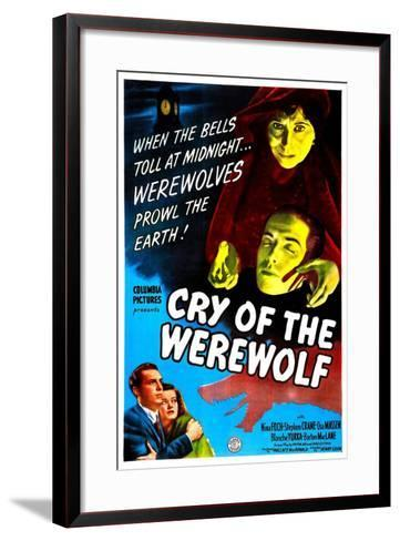 Cry of the Werewolf--Framed Art Print