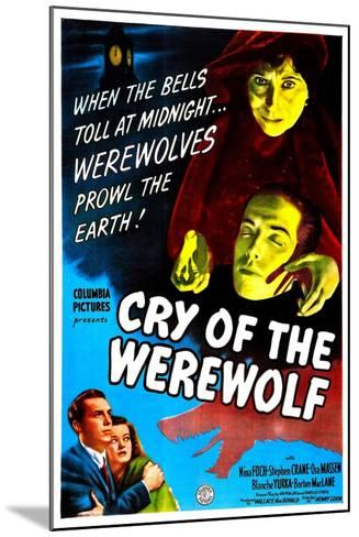 Cry of the Werewolf--Mounted Art Print