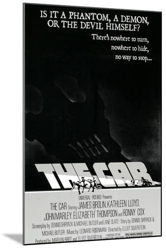 The Car, 1977--Mounted Art Print