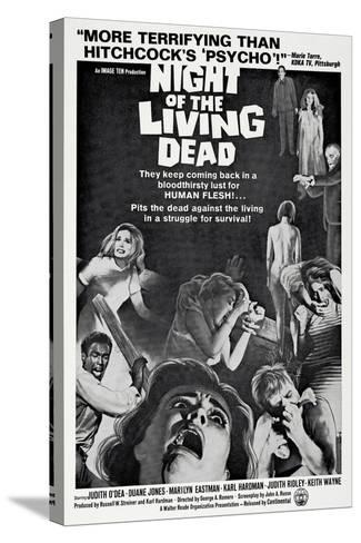 Night of the Living Dead, 1968--Stretched Canvas Print