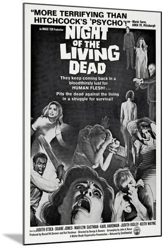 Night of the Living Dead, 1968--Mounted Art Print
