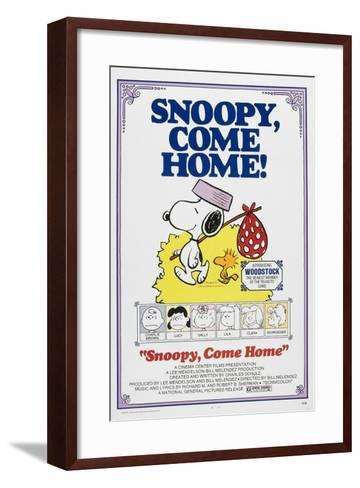 Snoopy, Come Home!--Framed Art Print