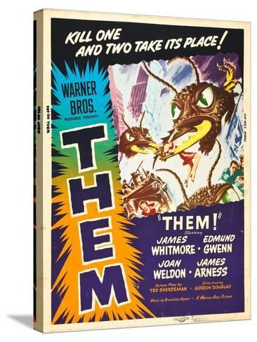 Them!, US poster art, 1954--Stretched Canvas Print