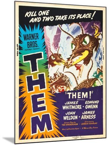 Them!, US poster art, 1954--Mounted Art Print