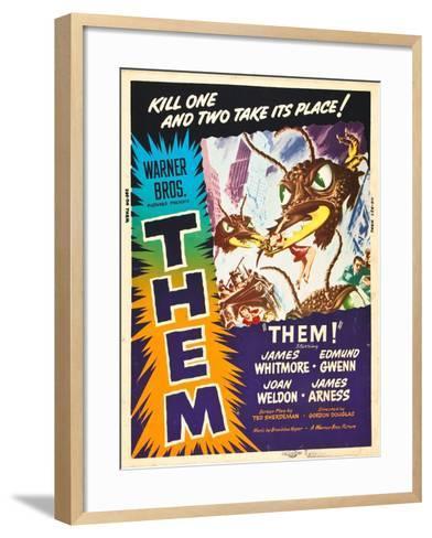 Them!, US poster art, 1954--Framed Art Print