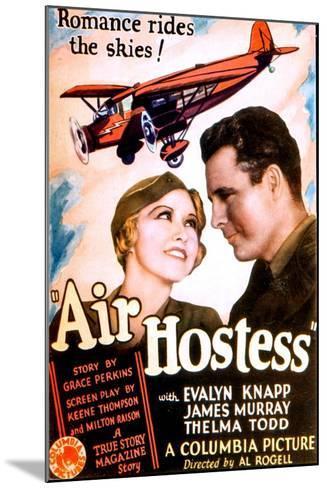 Air Hostess, Evalyn Knapp, James Murray, 1933--Mounted Art Print