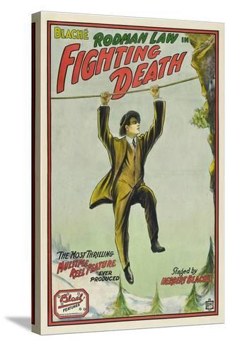 Fighting Death, Rodman Law, 1914--Stretched Canvas Print