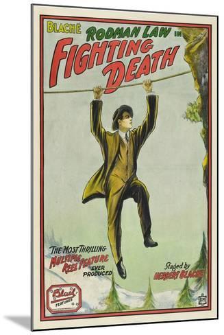 Fighting Death, Rodman Law, 1914--Mounted Art Print