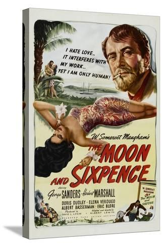 The Moon and Sixpence, Elena Verdugo, George Sanders, 1942--Stretched Canvas Print