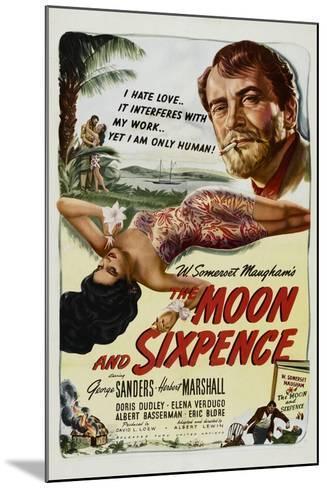 The Moon and Sixpence, Elena Verdugo, George Sanders, 1942--Mounted Art Print