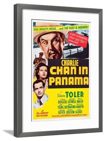 Charlie Chan in Panama--Framed Art Print