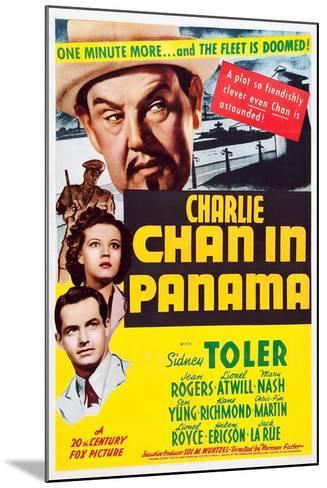 Charlie Chan in Panama--Mounted Art Print