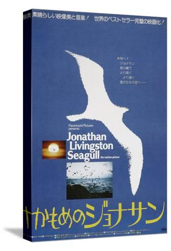 JONATHAN LIVINGSTON SEAGULL, Japanese poster, 1973--Stretched Canvas Print
