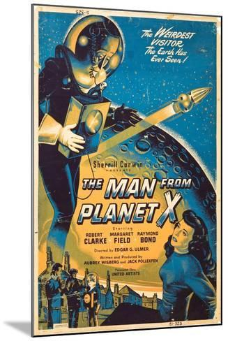 The Man From The Planet X, Pat Goldin, Margaret Field, 1951--Mounted Art Print