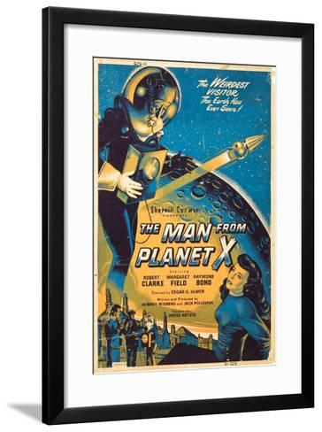 The Man From The Planet X, Pat Goldin, Margaret Field, 1951--Framed Art Print