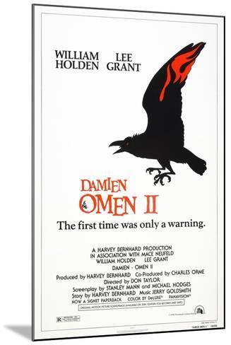 Damien: Omen II, US poster, 1978, TM & Copyright © 20th Century Fox/courtesy Everett Collection--Mounted Art Print