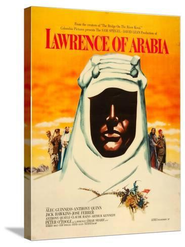 Lawrence of Arabia, 1962--Stretched Canvas Print