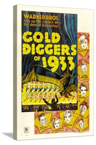 Gold Diggers of 1933--Stretched Canvas Print