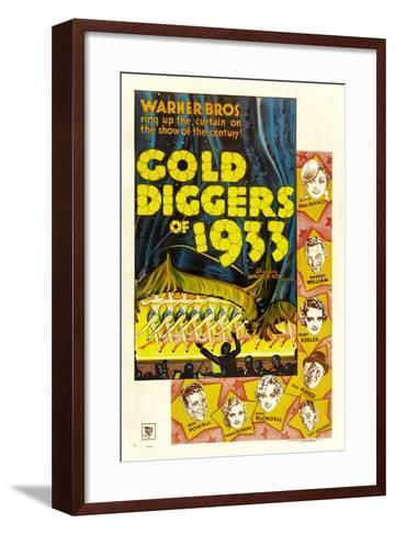 Gold Diggers of 1933--Framed Art Print