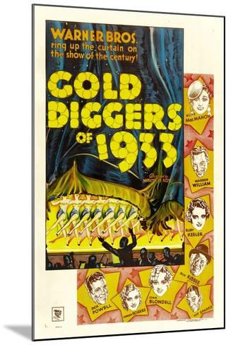 Gold Diggers of 1933--Mounted Art Print