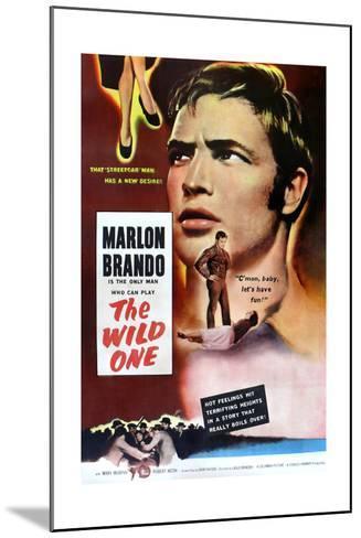 The Wild One, Marlon Brando, 1953--Mounted Art Print
