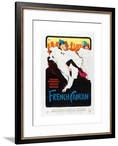 French Can Can, poster art, 1955--Framed Art Print
