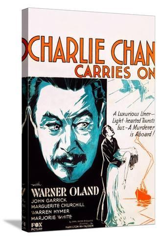 Charlie Chan Carries On--Stretched Canvas Print