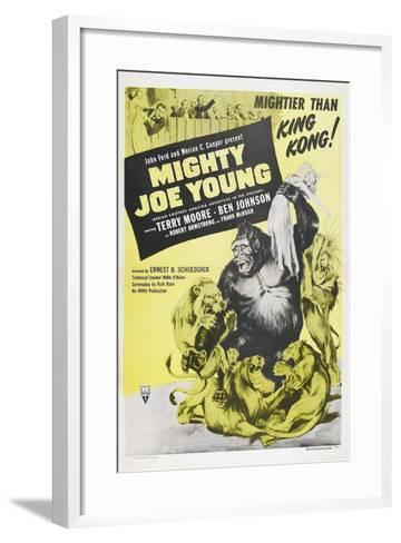 MIGHTY JOE YOUNG, US poster, Terry Moore, Mighty Joe Young, 1949--Framed Art Print
