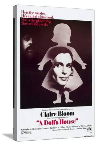 A Doll's House, Anthony Hopkins, Claire Bloom, 1973--Stretched Canvas Print