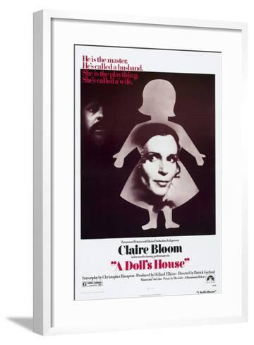 A Doll's House, Anthony Hopkins, Claire Bloom, 1973--Framed Art Print