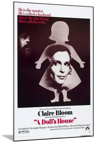 A Doll's House, Anthony Hopkins, Claire Bloom, 1973--Mounted Art Print