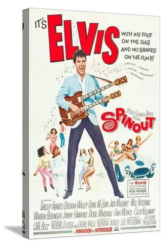 Spinout, Elvis Presley, 1966--Stretched Canvas Print